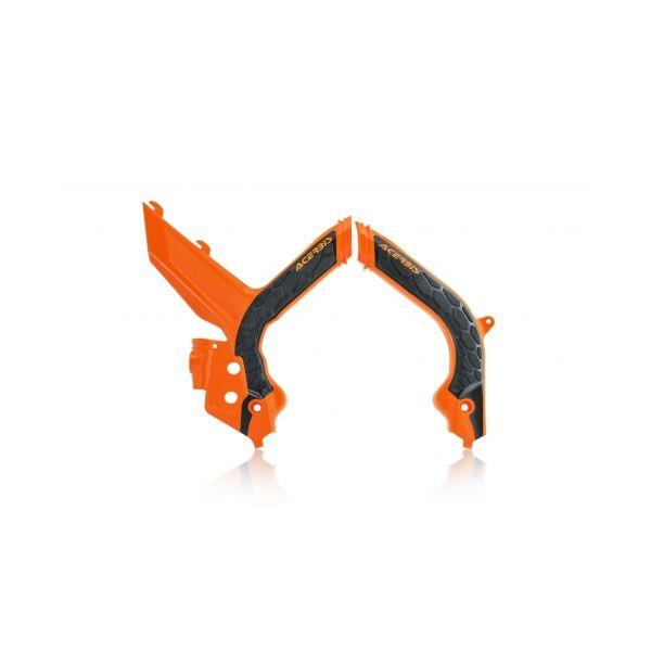 Scuturi moto Acerbis Protectii Cadru X-Grip KTM EXC/EXC-F Black/Orange 2020