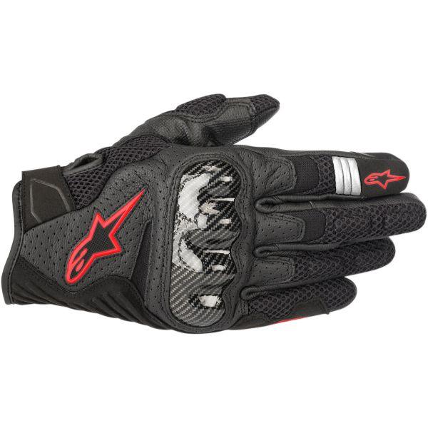 Manusi Moto Sport si Piele Alpinestars Manusi Moto Textile/Piele SMX-1 Air V2 Performance Black/Red 2021