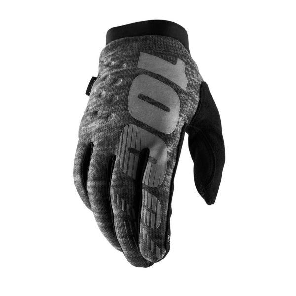 Manusi MX-Enduro 100 la suta Manusi Brisker Grey