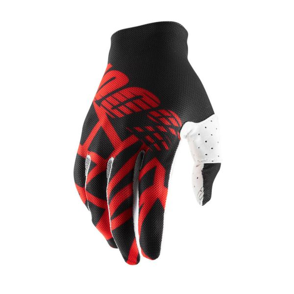 Manusi MX-Enduro 100 la suta Manusi Celium 2 Black/Red 2019