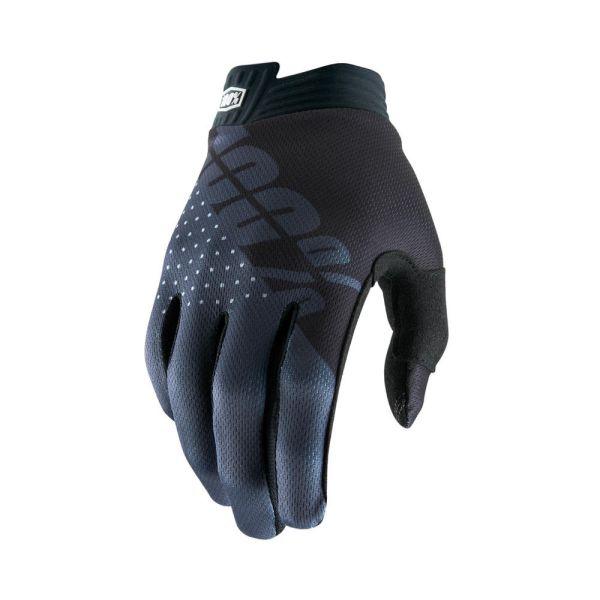 Manusi MX-Enduro 100 la suta Manusi Moto MX Itrack Black/Charcoal