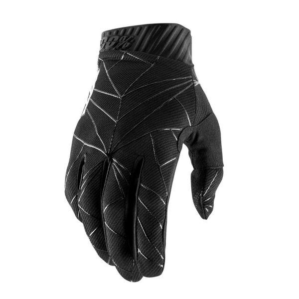 Manusi MX-Enduro 100 la suta Manusi Ridefit Black/White 2019