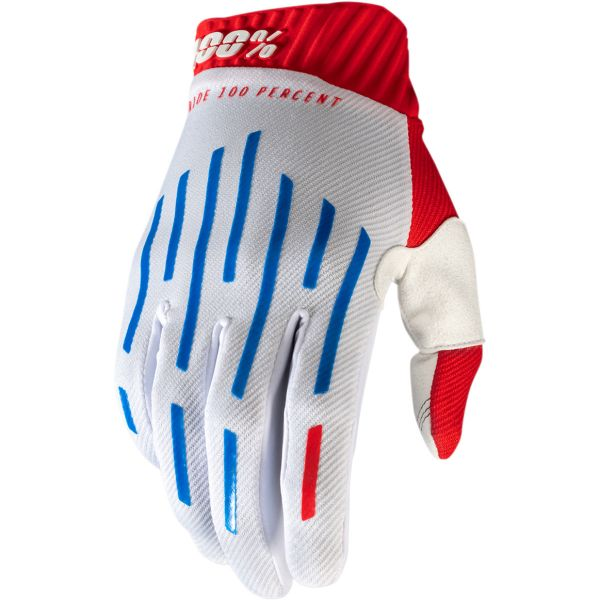 Manusi MX-Enduro 100 la suta Manusi Ridefit Red/White/Blue 2020