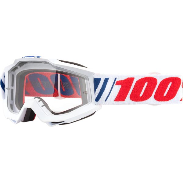 Ochelari MX-Enduro 100 la suta Ochelari Accuri AF066 Clear Lens