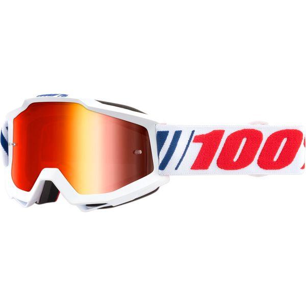 100 la suta Ochelari Accuri AF066 Mirror Red Lens