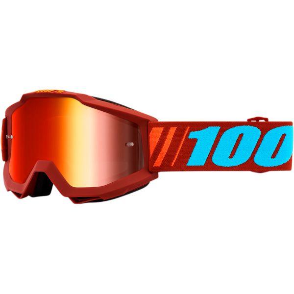 Ochelari MX-Enduro 100 la suta Ochelari Accuri Dauphine Mirror Red Lens