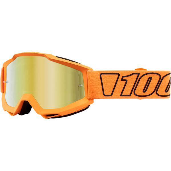 Ochelari MX-Enduro 100 la suta Ochelari Accuri Luminari Mirror Gold Lens