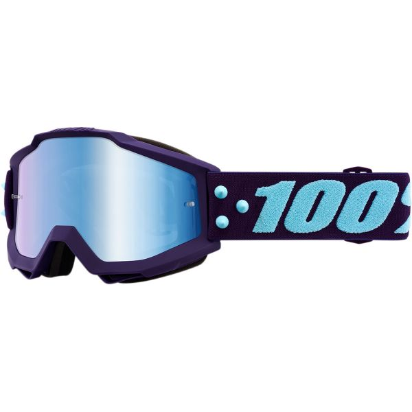 Ochelari Cross Enduro Copii 100 la suta Ochelari Accuri Maneuver Mirror Blue Lens Junior