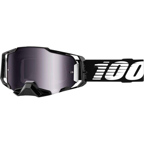 Ochelari MX-Enduro 100 la suta Ochelari ARMEGA BLACK MIR/SL