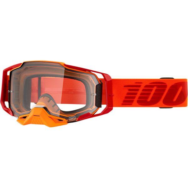Ochelari MX-Enduro 100 la suta Ochelari MX  Armega Litkit Clear Lens