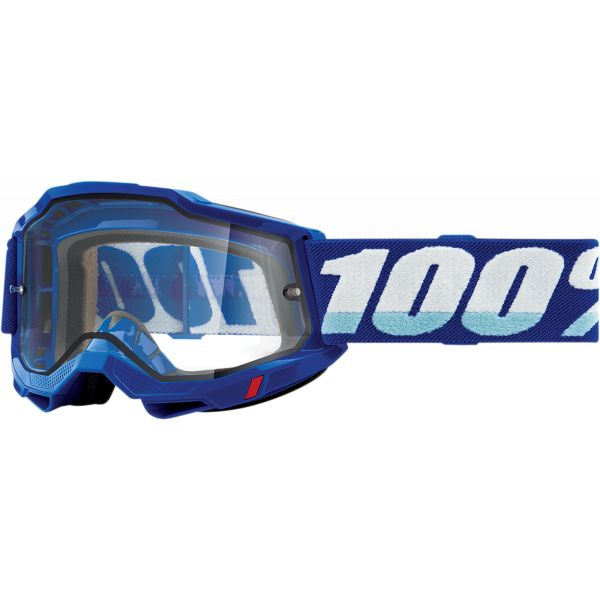 Ochelari MX-Enduro 100 la suta Ochelari MX  Accuri 2 Blue Clear Lens