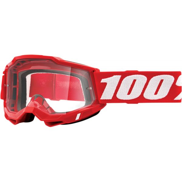 Ochelari MX-Enduro 100 la suta Ochelari MX  Accuri 2 Red Clear Lens