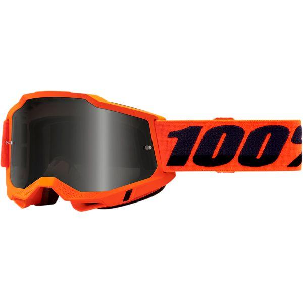 Ochelari MX-Enduro 100 la suta Ochelari MX  Accuri 2 Sand Orange Smoke Lens