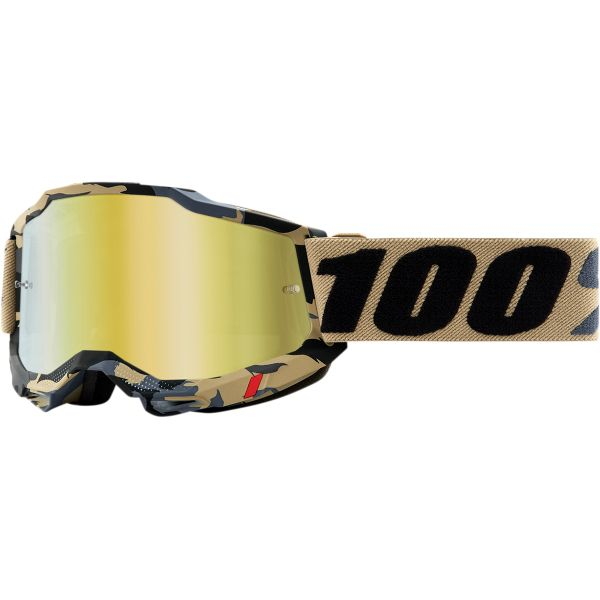 Ochelari MX-Enduro 100 la suta Ochelari MX  Accuri 2 Tarmac Gold Mirror Tarmac