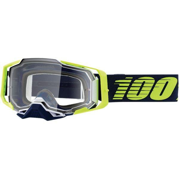 Ochelari MX-Enduro 100 la suta Ochelari MX  Armega Deker Clear Lens