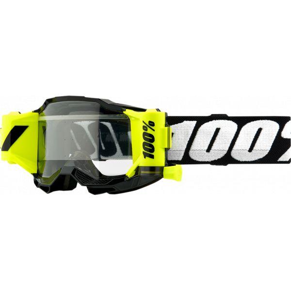 Ochelari MX-Enduro Copii 100 la suta Ochelari MX Copii Accuri 2 Black Clear Lens
