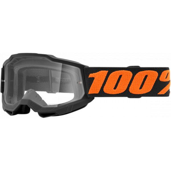 Ochelari MX-Enduro Copii 100 la suta Ochelari MX Copii Accuri 2 Chicago Clear Lens