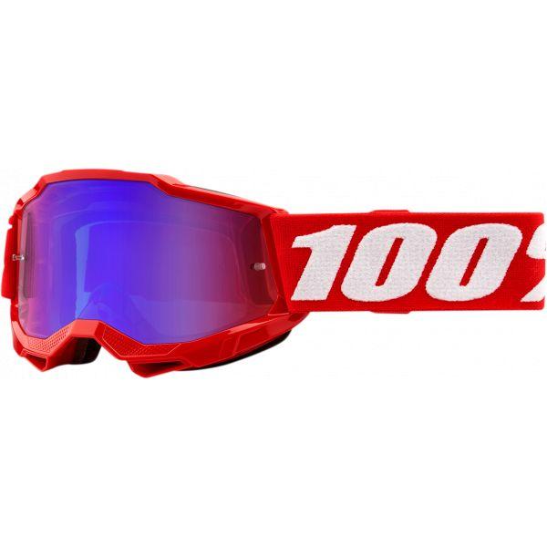 Ochelari MX-Enduro Copii 100 la suta Ochelari MX Copii Accuri 2 Red Mirror Lens
