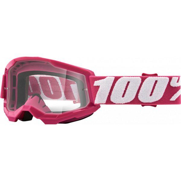 Ochelari MX-Enduro Copii 100 la suta Ochelari MX Copii Strata 2 Fletcher Clear Lens
