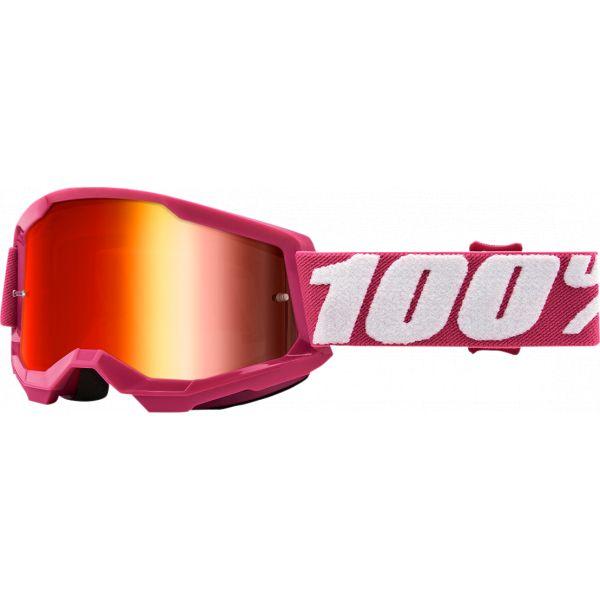 Ochelari MX-Enduro Copii 100 la suta Ochelari MX Copii Strata 2 Fletcher Mirror Lens