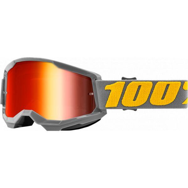 Ochelari MX-Enduro 100 la suta Ochelari MX  Strata 2 Izipizi Mirror Lens