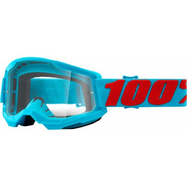 Ochelari MX-Enduro 100 la suta Ochelari MX  Strata 2 Summit Clear Lens