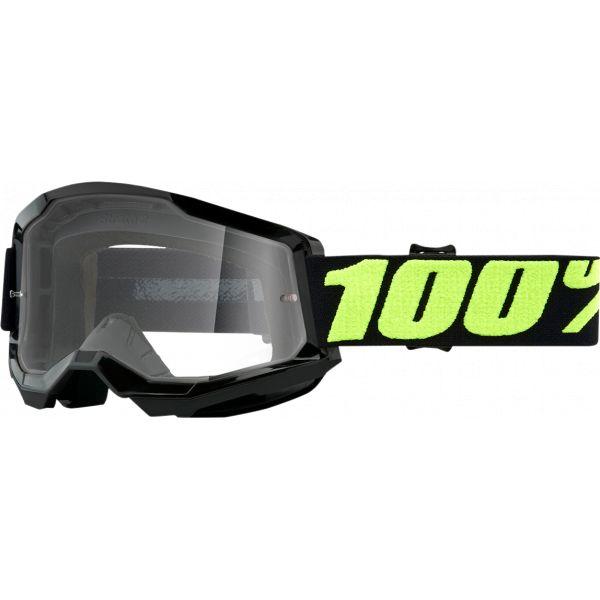 Ochelari MX-Enduro 100 la suta Ochelari MX  Strata 2 Upsol Clear Lens