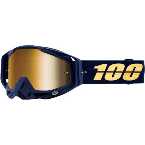 100 la suta Ochelari Racecraft Bakken Mirror True Gold Lens