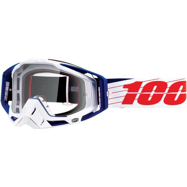 Ochelari MX-Enduro 100 la suta Ochelari Racecraft BIBAL/WHT CLR