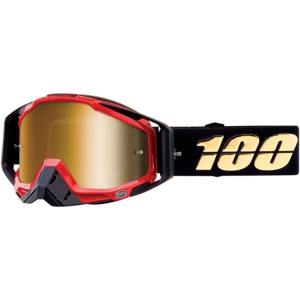 Ochelari MX-Enduro 100 la suta Ochelari Racecraft HOT ROD GLD/MIR