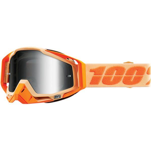 100 la suta Ochelari Racecraft Sahara Mirror Silver Lens