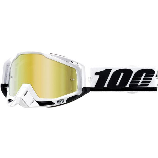 100 la suta Ochelari Racecraft Stuu Mirror Gold Lens