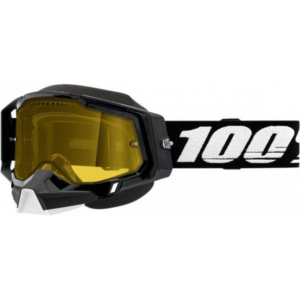 Ochelari Snowmobil 100 la suta Ochelari Snow Racecraft 2 Black