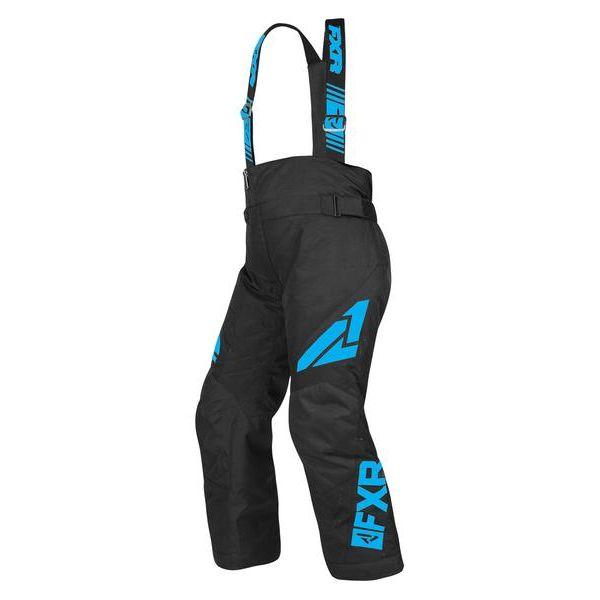 Pantaloni Snow - Copii FXR Pantaloni Snow Copii Insulated Clutch Black/Blue 2019