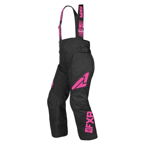 Pantaloni Snow - Copii FXR Pantaloni Snow Copii Insulated Clutch Black/Elec Pink 2019