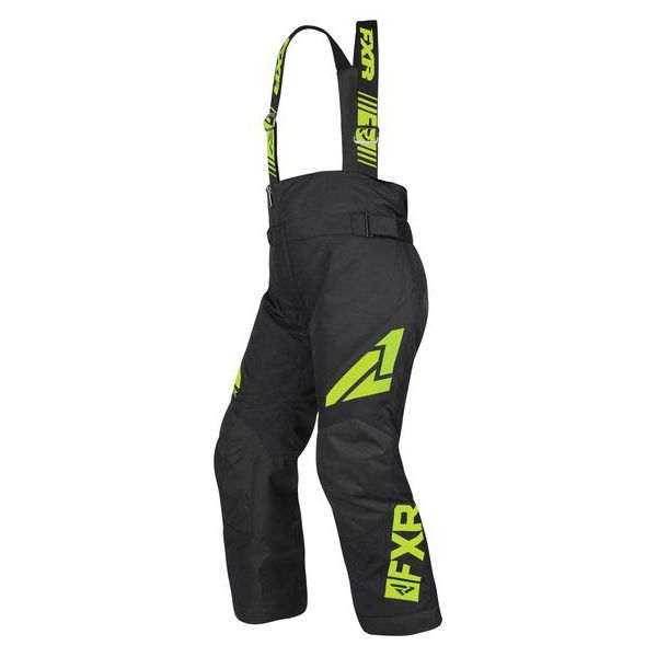 Pantaloni Snow - Copii FXR Pantaloni Snow Copii Insulated Clutch Black/Lime 2019