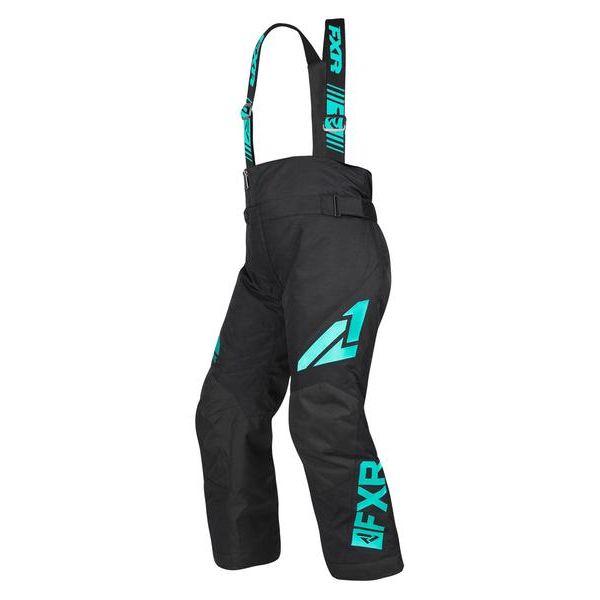 Pantaloni Snow - Copii FXR Pantaloni Snow Copii Insulated Clutch Black/Mint 2019