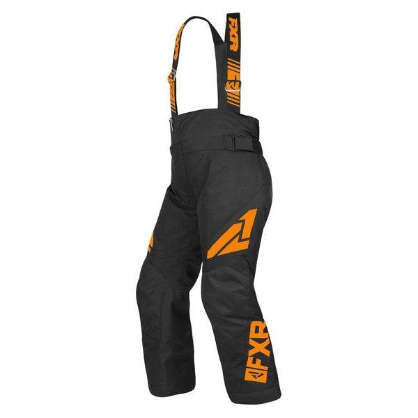 Pantaloni Snow - Copii FXR Pantaloni Snow Copii Insulated Clutch Black/Orange 2019
