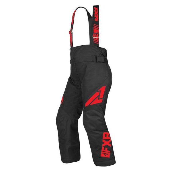 Pantaloni Snow - Copii FXR Pantaloni Snow Copii Insulated Clutch Black/Red 2019