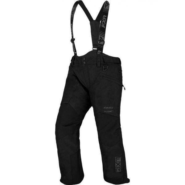 Pantaloni Snow - Copii FXR Pantaloni Snow Copii Insulated Kicker Black 2021