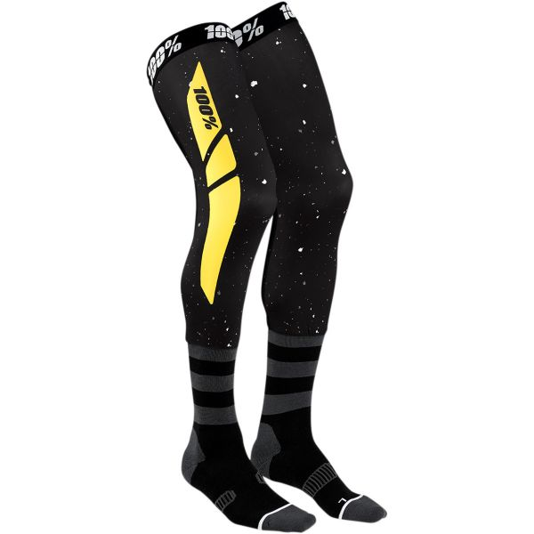Sosete MX-Enduro 100 la suta Sosete Knee Brace Rev Black/Yellow 2020