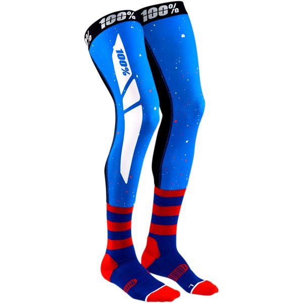 Sosete MX-Enduro 100 la suta Sosete Knee Brace Rev Blue/Red 2020