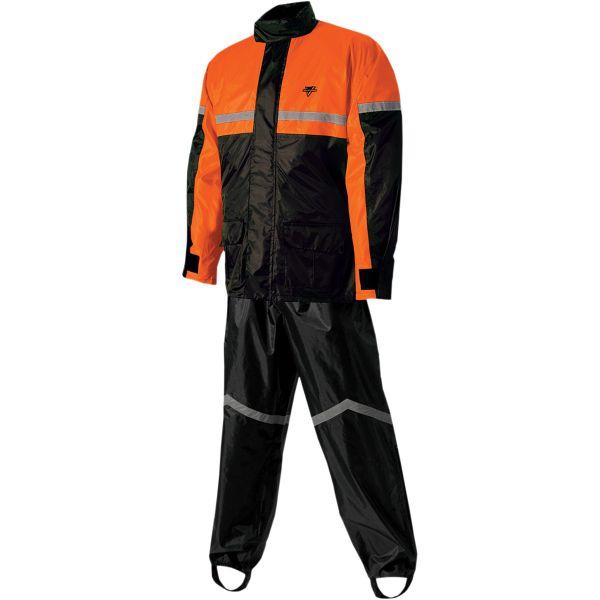 Combinezoane Ploaie Nelson Rigg Costum Ploaie SR-6000 Black/Orange 2021