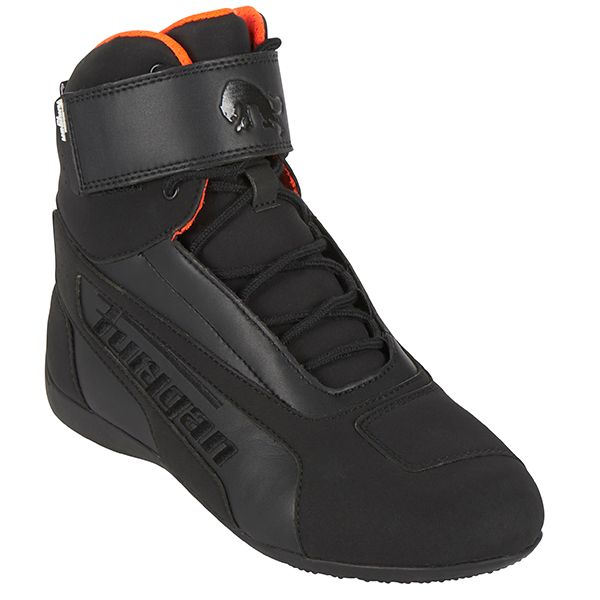 Cizme Moto Scurte/Urban Furygan Cizme Zephyr D3O Waterproof Black/Orange 2020