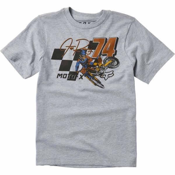 Tricouri/Camasi Casual Fox Tricou Copii Trackside Gray