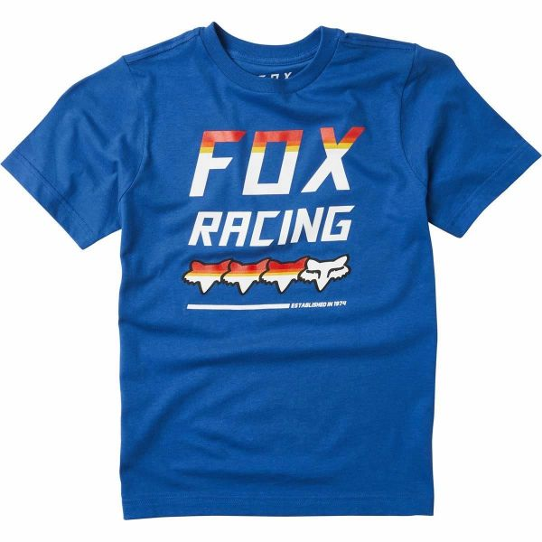 Tricouri/Camasi Casual Fox Tricou Copii Full Count Blue