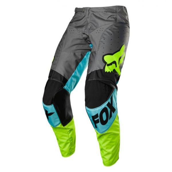 Pantaloni MX-Enduro Fox Pantaloni Moto MX 180 Trice Teal 2021