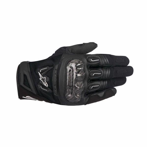 Manusi Moto Sport si Piele Alpinestars Manusi Moto Textile/Piele SMX-2 Air V2 Performance Black 2021