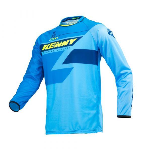 Tricouri MX-Enduro Copii Kenny Tricou MX Copii Track S19 Blue