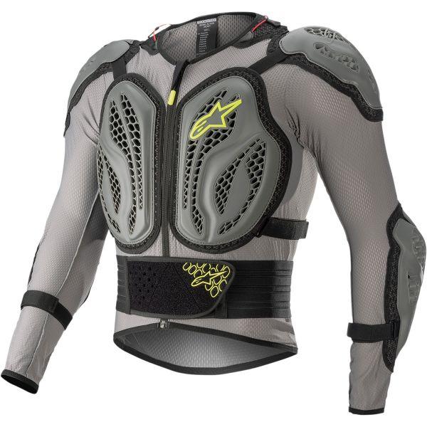 Armuri Moto-Integrale Alpinestars Armura Moto MX Bio Action Grey/Yellow 2022